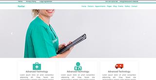 doctor hospital responsive website